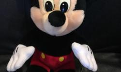 For sale 3 mickey mouse toys. From a pet and smoke free home.
