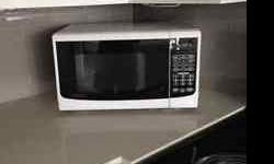 """Danby microwave 18"""" length x 11"""" height x 12"""" deep Yonge and Eglinton Ave area"""