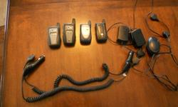 I have 4 Mike phones... no contract needed. Includes 3 wall chargers and 2 car chargers. Great for small businesses or families. 4 phones and chargers for $200.00.