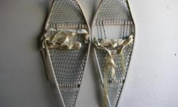 Military snowshoes c/w harness