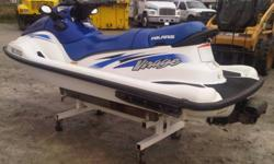Amazing condition. Only 150 hrs. Liberty motor 2 stroke. Can legally hold 3 passengers and tow skiers or tubes. Act now and avoid spring mark-up. $3500 or package deal with another 2000 virage in similar condition for $6000. No trailer. 705-331-0790