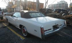 Mint Condition 1975 Convertible Cadillac 40,000km (original) Brown Leather Interior Certified   Looking for $16,000 OBO   Please call Dennis @ (800) 263-1313 OR Local 905-529-2424   193 King Street. West Hamilton, ON. L8P 1A6