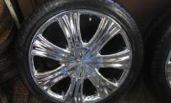 Rims Are 8/10 tires are 9/10 (summer directionals) askin $1000 serious offers only no time wasters these arent for the poor, 4x100 bolt pattern, rims shine in the sunlight and at night!!