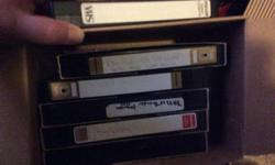 Miscellaneous VCR Tapes. Asking $5 for all