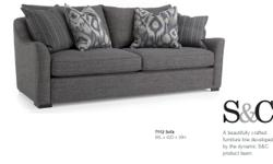 MODERN STEVEN & CHRIS SOFA - BRAND NEW $800 - can be delivered for $80-$100.