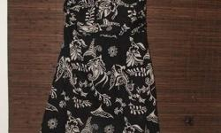 """Beautiful Dresses!! More in 2nd ad! 1- (first 2 pics) Medium Halter dress, beautiful on!  Worn once to wedding!!  Asking $10 2-(Picture 3 & 4) Adjustable """"scarf"""" dress!! Great for vacation!  So comfortable, and brand NEW!  Would fit Small to Large."""