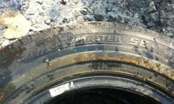Motomaster SE TIRES P155/80R13 795 good condition you will get about 2-3 seasons out of them. Asking $50.00 OBO