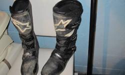 motocross chest protector, fox pants size 36 ,tech3 alpinestar boots size 12 .