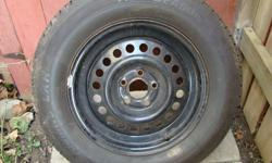 NEW PRICE Asking $75.00 or Best Offer   New Full Size Tire & Rim purchased as a spare tire, but never used on road.   205/70R15   Was bought for a 1997 Chevy Lumina Car.   New: Tire - $79.10 Rim - $87.55   Combined - $166.65