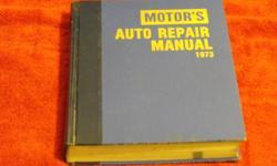 repair manuals   1973  36th edition 1981  44th edition   1976-81 1982  45th edition   1977-82   $60.00 each or b/o call 705 874-8371