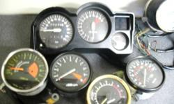 Motorcycle gauge clusters, fuel, oil, temp. used   $10.00 and up   905 505 1630   Don't forget to check out my other ads.