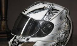 motorcycle helmet size: large