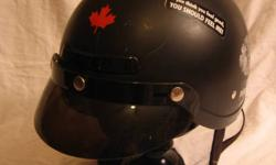 DOT Certified helmet Removable Visor Two vents in front Size Small $25