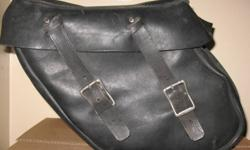 Motorcycle leather saddlebags used   905 505 1630   $45.00 each obo   Check out my other Ad's