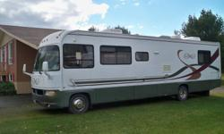 EXCELLENT CONDITION MOTORHOME FOR SALE!   Class A, 1999 FORD INFINITY, V10, 36', 64000 MILES.   Hydraulic Jacks, Electric steps Full bedroom, day-night shades, full size shower with skylight 3 Air, Washer and Dryer, New Canape, 2 TV and satellic dish