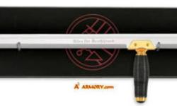 Officially Licensed HELLBOY Product Here's a rare sword replica that will delight and excite Hellboy film fans everywhere! Factory sealed authentic replica of the Sword of Kroenen, as featured prominently in the film. This Iconic sword is undoubtedly a