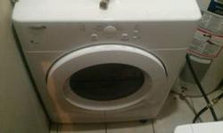 ONE MONTH OLD WHIRLPOOL FRONT LOAD STACKABLE WASHER AND DRYER . PAID 1100 . ASKING 900 . NEED TO SELL . . BARELY USED .