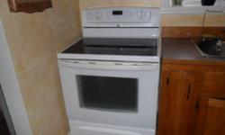 Whirlpool Glass-Top Stove and Maytag Fridge/Freezer Bottom 4 years old Asking $600 for pair   Metal Frame Bunkbed, bottom is a futon and folds into a coach $200   Other Items Available, Moving October 28th and need these gone!   Emails only please