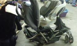 **MOVING SALE EVERYTHING MUST GO**** Double stroller (comes with base for carseat, carseat, cup/snack holder) 100.00 3 bamboo blinds (not sure the sizes, but if interested, i can go find out) 30.00 one of those kids chairs (green, comes with tray) 25.00