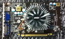 A budget price video card for slightly above average gaming. I did my research and this card was the best power for the money. I simply upgraded recently so I'm selling the old pieces. Specifications: (From Nvidia's site) GPU Engine Specs: CUDA Cores 96