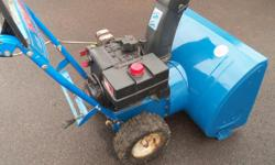 10hp snowflight mtd electric start 28'' cut $375 ...902-218-4311 no emails thank you