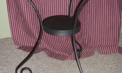 """(ITEM No. 1) """"2 IKEA CHAIRS AND A WROUGHT IRON CENTRE TABLE FOR SALE"""" IN GOOD CONDITION. VERY SMALL SCRATCH ON ONE OF THE CHAIR. ASKING ONLY $29 FOR ALL THREE ITEMS. (ITEM No.2) """"RECLINER FOR SALE"""" in Niagara Falls Is in a Brand New Condition. Purchased"""