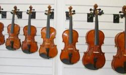 """Pls view my other ads by clicking """"View poster's other ads"""" on the right.   Violin (1/32-3/4 size) $89-$129 Violin 4/4 size---from $89.00-$1299.00 Color Violin (1/2 size & 4/4 size) $99.00 Electric Violin from $199.00 Viola $249.00 Cello from $399.00"""