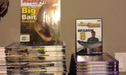 Musky Hunter set - 80$ Season 1-8 on DVD, all discs in great shape. All issues of Musky Hunter magazine from volumes 18-24 Sold as set For pick up in Barrhaven