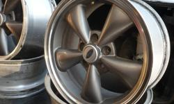 """Ford Mustang factory 17""""x 8"""" aluminm  4.5"""" bolt patten, 5 spoke rims., optional on the 2006-2012  Mustang. 4.5"""" bolt pattern. Fits many other vehicles. Good cond. No road rash Set of 4 $650.00 best offer. REDUCED $550"""