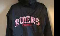 For sale is a gently used Myers Riders hooded jacket in excellent condition. No name stitching was done on the jacket.