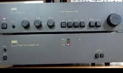 Back into the hobby for 8 months, after a 30 year absence, and have gotten to like the sound of NAD products. A friend suggested that i pick up a NAD preamplifier to use with my Mitsubishi Amp. If you have a NAD pre-amp to offer me at a good price