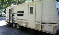 Travel Trailer for rent in the Vancouver Island Nanaimo area.   $550 week (May long - Sept long weekend) $400 week (Winter off season) It sleeps 6 comfortably (Queen bedroom, couch converts to double bed and kitchen table into double bed). Has a full