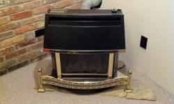 I have for sale a natural gas fire place, that is not an insert but a stand alone unit. It works amazingly heats up my basement in minutes looks and works great. Doing renovations and no longer needed. Comes with automatic powered flu assembly. Asking
