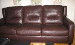 Relocation sale. Natuzzi leather couche. Bought Nov 2008. Excellent condition.