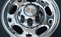 looking for 16 inch gmc alum factory 8 bolt HD wheels, need two but will consider set of four or one, email price and photo if possible.will also consider other 16 inch wheels in chrome or alum to fit gmc.
