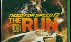 Includes EXTRA CARS & EXCLUSIVE CHALLENGES http://www.needforspeed.com/therun FROM SAN FRANCISCO TO NEW YORK It?s called The Run. Three thousand miles of unforgiving asphalt with no speed limits, no rules, and no allies. Armed with the hottest cars in the