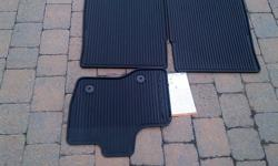 YOU ARE PURCHASING A NEW (STILL IN THE BOX) AN OEM 2011-2014 FORD EXPLORER ALL WEATHER BLACK RUBBER CATCH ALL FLOOR MATS. FORD PART # DB5Z-7813086-BA 100% Genuine Ford Motor Company parts The deep grooves and raised ridges in these heavy-duty mats catch