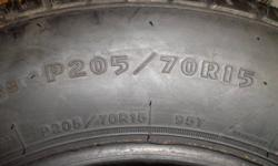 """""""1"""" NEW  /  UNUSED 205 / 70 / 16 TIRE RETAILS FOR $150 only --- $70"""