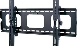 """Brand New Sealed in Retail Package. Tax extra This TygerClaw LCD3034BLK Tilt wall mount is designed for most 32"""" to 63"""" flat-panel TVs up to 176lbs/80kgs with tilt degree from -15? to +15?, and is constructed from heavy gauge steel for total support and"""
