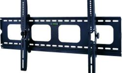 "This TygerClaw LCD3033BLK Tilt wall mount is designed for most 42"" to 70"" flat-panel TVs up to 220lbs/100kgs with tilt degree from -15? to +15?, and is constructed from heavy gauge steel for total support and durability, also an innovative locking"
