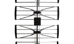 Brand New Sealed in Retail Package. 4 Bay Outdoor HDTV Antenna Brand: Electronics Master Bay antenna -Strong performance across (channels 2-69) best for UHF spectrum (21-69) -Efficient design allows tremendous gain in a compact size -Designed to resist
