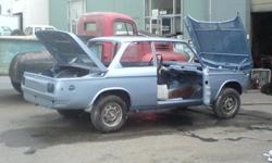 New shop doing all repairs and  paint. Bumpers, doors, floors and more.  We also do restorations, hot rods and motorcycles.