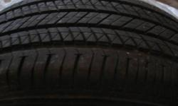 For sale is a set (4) of stock Bridgestone Turanza EL 400s that came with my subaru legacy 2011. Its a new car and new tires, only 5k of use. There are other ads that say 75% or 80% treadwear left, 1 season or so but how do you really know what that
