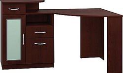Bush Vantage Corner Desk Harvest Cherry - For Sale - New In the Box http://www.staples.ca/en/Bush-Vantage-Corner-Desk-Harvest-Cherry/product_640068_2-CA_1_20001