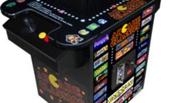 """""""REDUCED FOR NEW YEARS SPECIAL!!!"""" Don't Risk Your Home With Faulty Equipment.   1 Year Warranty   """"NEW"""" 60 Classic Arcade Games in 1 table top model built by video game manufacture in Canada featuring arcade quality controls, arcade quality cabinet, 19?"""