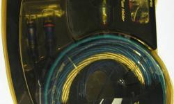 New DHD power NTX Gold power hoop-up kit 1600 watts,high power Transfer oxygen free copper 4GA. List$74.99 Sale $49.95 905-356-7695 Niagara falls