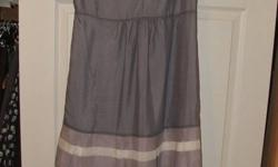 Brand new, tags still on, small Gap Maternity Dress!  So cute, just never fit me.  Top would fit B-C cup, otherwise would be tight across bust area. Paid over $60 on Ebay, asking $40.  Cute with jacket or for summer. Very comfortable! Have MANY more ads