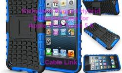 Hybrid Dual Layer Heavy Duty Rugged Kickstand Hard Case Cover For iPod Touch 5 6 -Dual-layer, ultra rugged cases made to survive the bumps, drops and scrapes -Built with kickstand -Protective membrane cradles the Touch ID to block dust and debris and