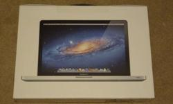 """BRAND NEW MACBOOK PRO 15.4"""" FEB 2011 EDITION COMES WITH ALL ACCESSORIES EXTENDED WARRANTY EXPIRES NOV 2013 I received as gift and I have no use for it. I have only turned it on to verify that it is working. Specifications: - 2.0GHz quad-core Intel Core i7"""