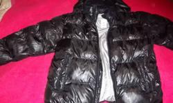brand new with tags never worn men's 725 brand winter jacket. black, has hood with face mask balaclava .  XL size .  20$  south Barrie area,